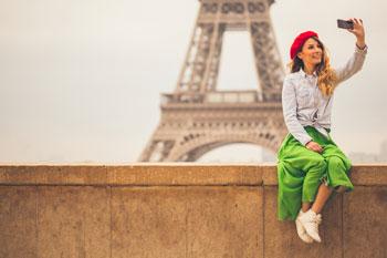 Etudiante étrangère à Paris