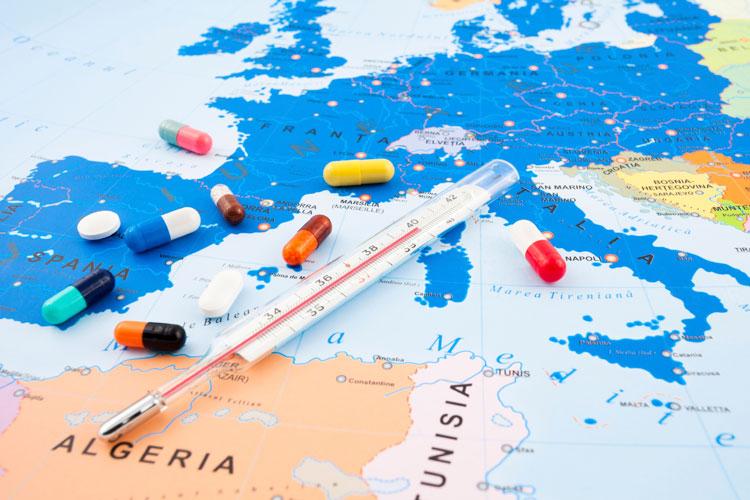 Santé voyage en Europe